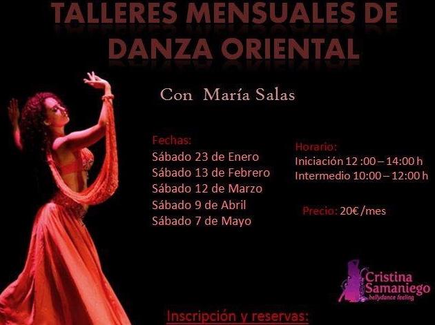 Danza Oriental Sabados Almeria