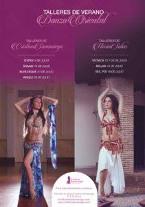 Talleres de danza. Verano 2016. Escuela Cristina Samaniego.