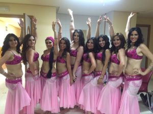 clases de danza árabe en Almería