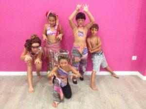 Baile para niños en Almería