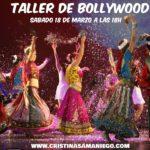Taller de Bollywood con Cristina Samaniego en Almeria 18 de Marzo