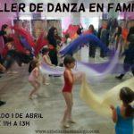 Taller de danza en familia en Almería 1 de Abril de 2017