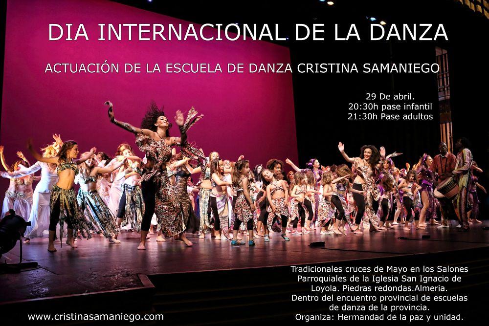 Actuación de nuestra escuela para celebrar el día internacional de la Danza en Almería