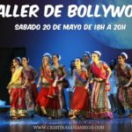 Taller intensivo de Bollywood en Almeria. Mayo 2017.