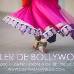 Primer taller de Bollywood del nuevo curso. Sábado 11 de Noviembre.