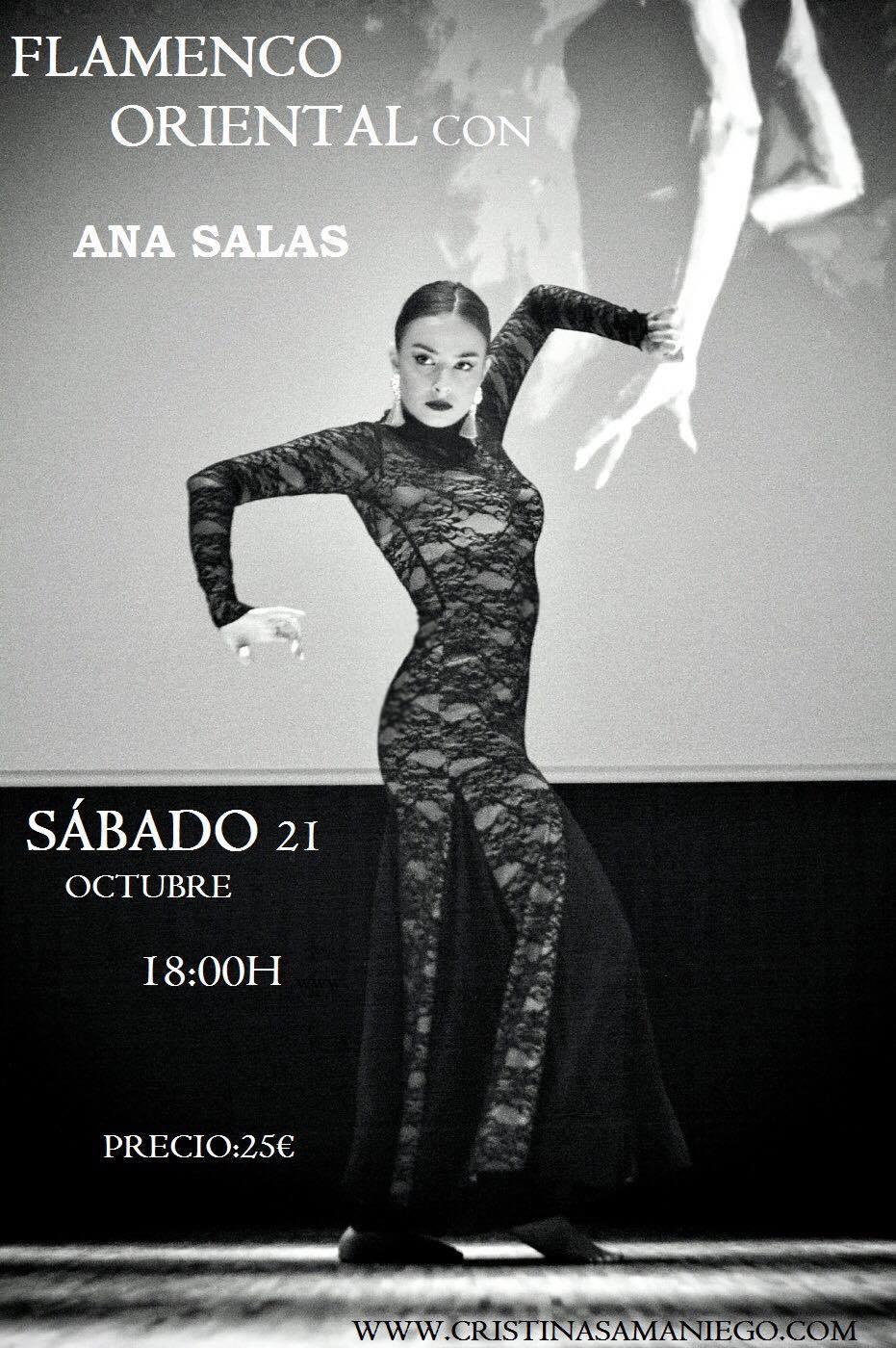 Taller de Flamenco Oriental con Ana Salas el 21 de Octubre