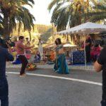 Bailando en el programa este es mi pueblo de Canal Sur en Santa Fe de Mondujar