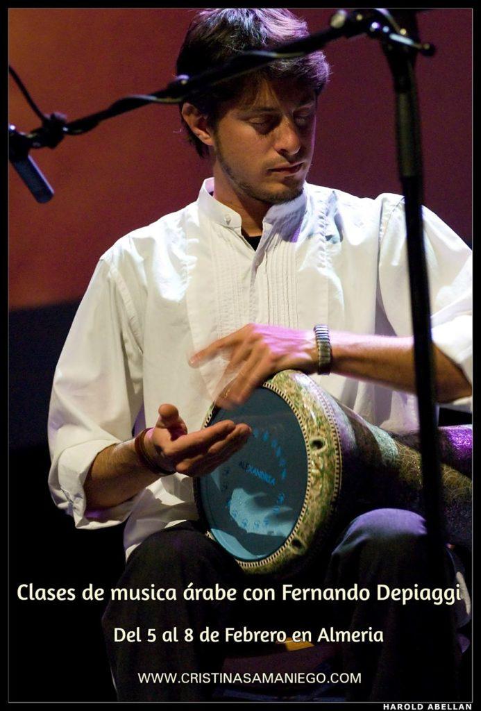 Máster Class con Fernando Depiaggi en Almeria del 5 al 8 de Febrero