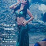 Talleres de Danza Oriental en Chiclana con Cristina Samaniego