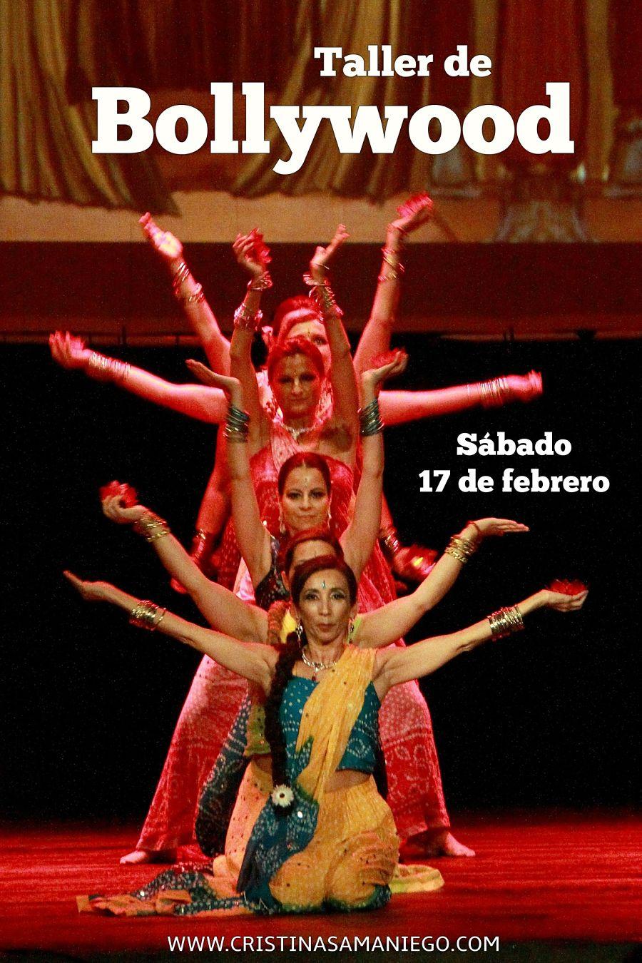 Taller de Bollywood con Cristina Samaniego el 17 de Febrero