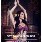Actuación de Maria Salas y Cristina Samaniego en el Festival Nayruz Weekend. Malaga. 19 de Junio.