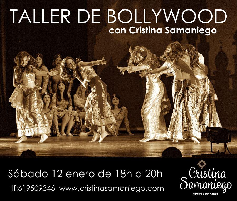 Taller de Bollywood con Cristina Samaniego. 12 de Enero de 2019.