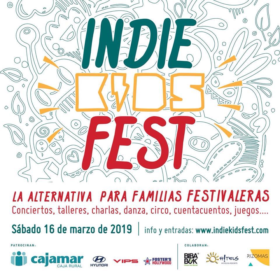 Talleres en el festival de familias Indie Kids Festival