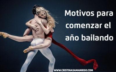 Motivos para comenzar el año bailando. Recupera tu vida offline.