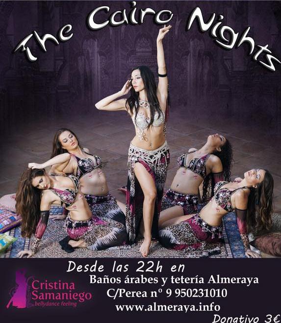 Cairo Nigths en los baños arabes Alemraya – danza oriental