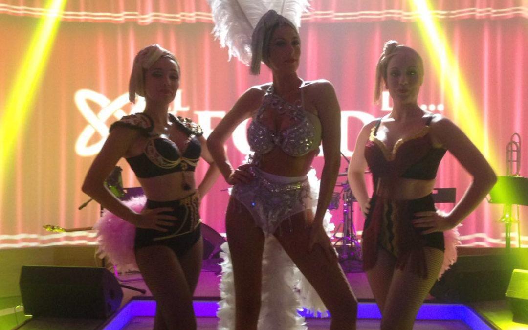 Cristina baila en el programa «El Legado de Lina Morgan » en Canal Sur