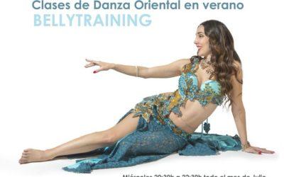 Clases intensivas de Danza Oriental en verano con Cristina Samaniego. Bellytraining en Julio.
