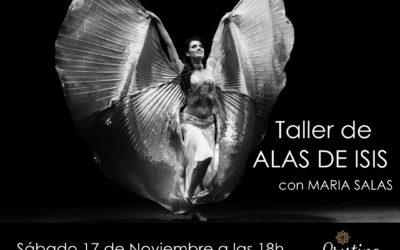 Taller de alas de isis con Maria Salas el 17 de Noviembre