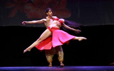 Excelente muestra de danza oriental en el estreno de 'El sueño de Nayib'