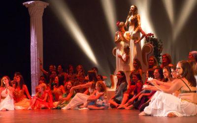 Cristina Samaniego presentó ayer el espectáculo 'Diosas. Estados del alma'