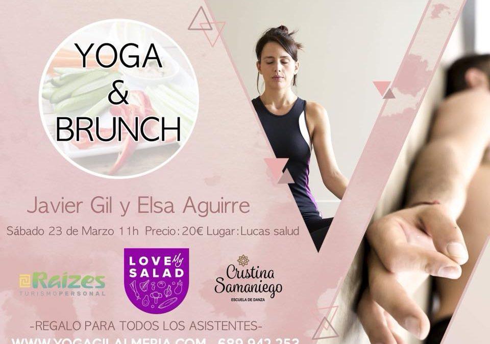 Yoga & Brunch llega a Almeria el Sabado 23 de Marzo