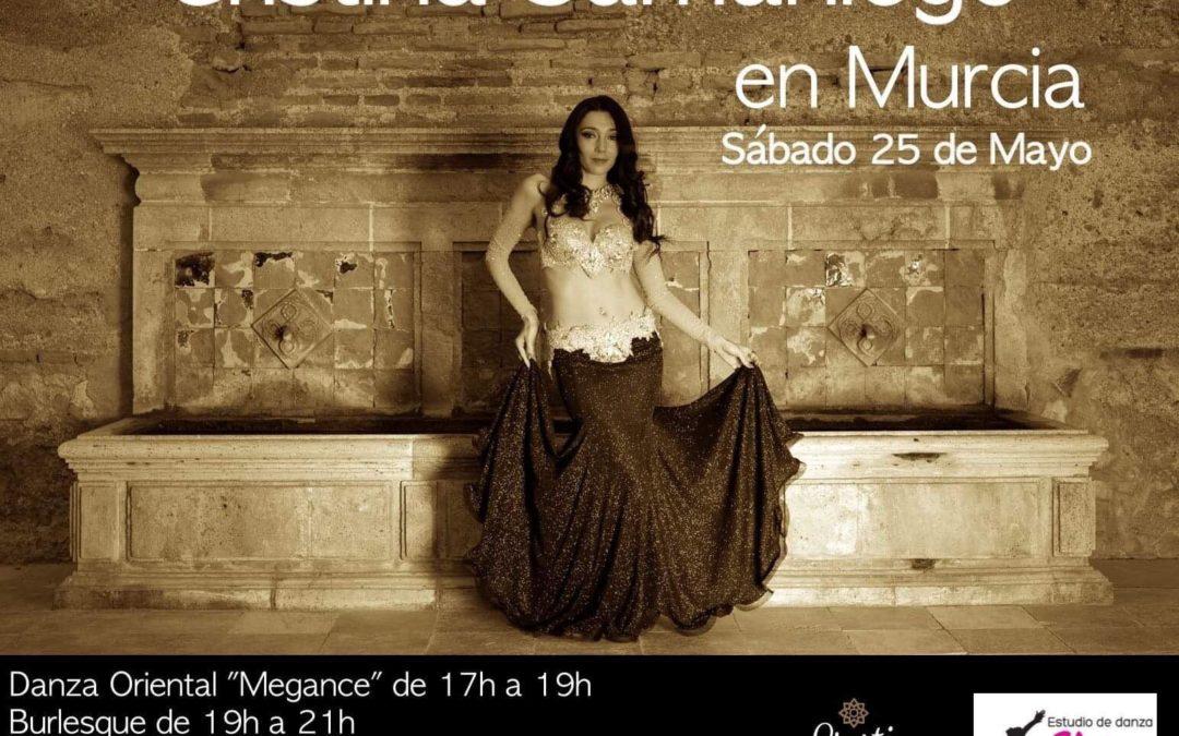 Talleres con Cristina Samaniego en Murcia el 25 de Mayo