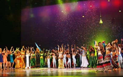 Gala de fin de curso de la Escuela de Danza Oriental Cristina Samaniego