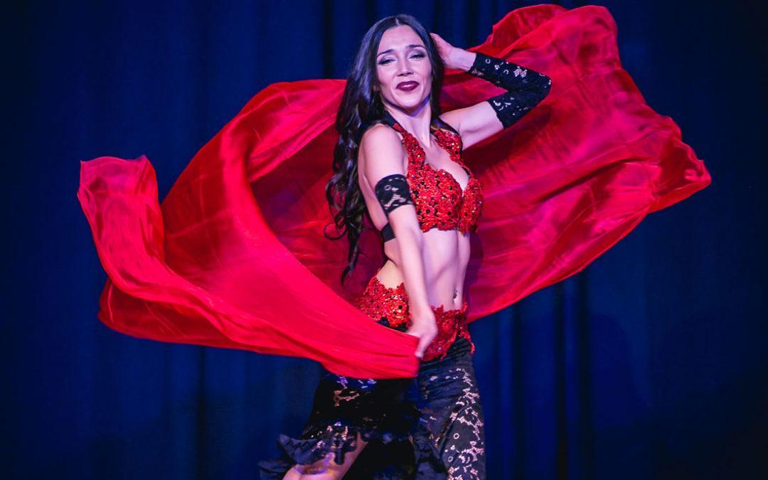 Actuación de Danza Oriental en Cordoba