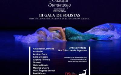 Cristina Samaniego organiza una gala benefica a favor de Equinac