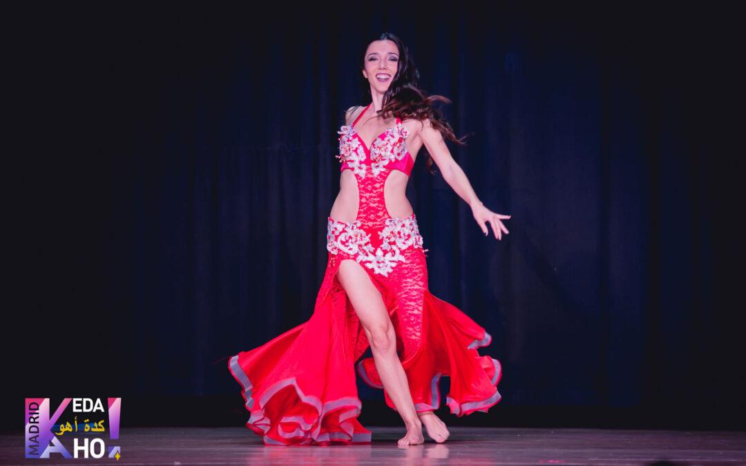 La Danza Oriental prolifera en Almería con Cristina Samaniego