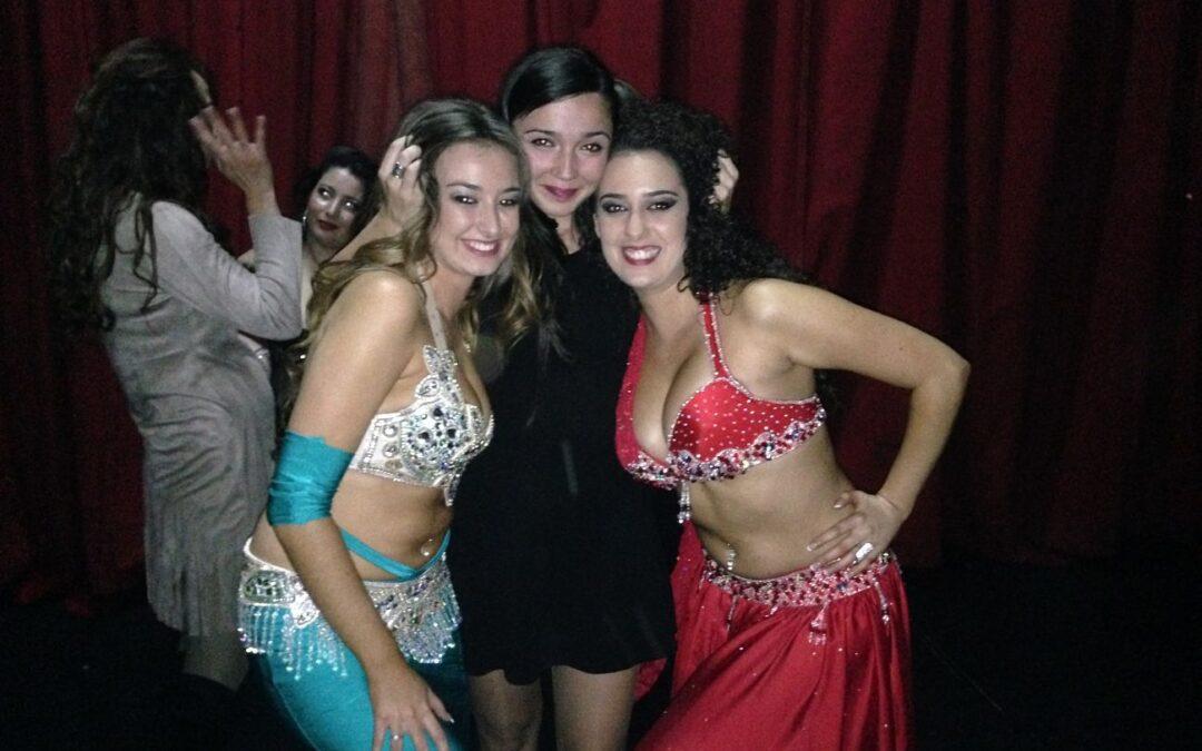 Maria y Ana Salas triunfan en el Festival de Danza Oriental Muzalat en Madrid