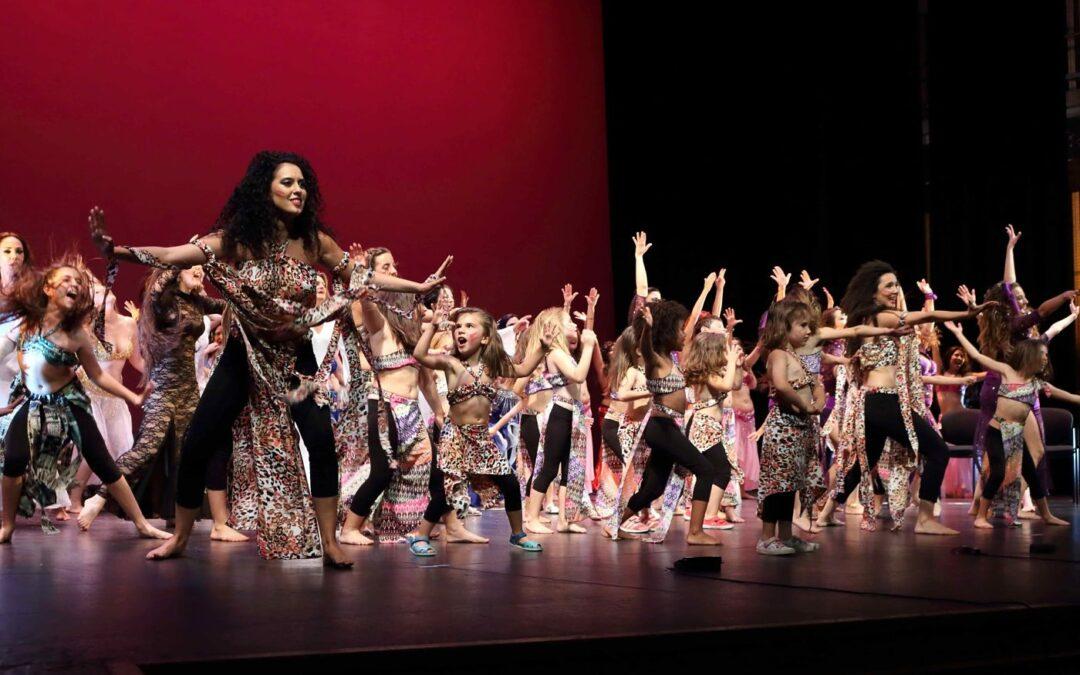 Éxito del Festival de Danza de la Escuela Cristina Samaniego